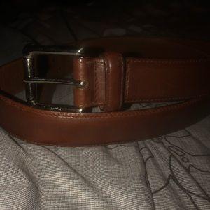 Men's Cole Haan brown belt size 40